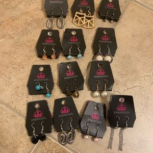 Earring Lot 13 Pairs